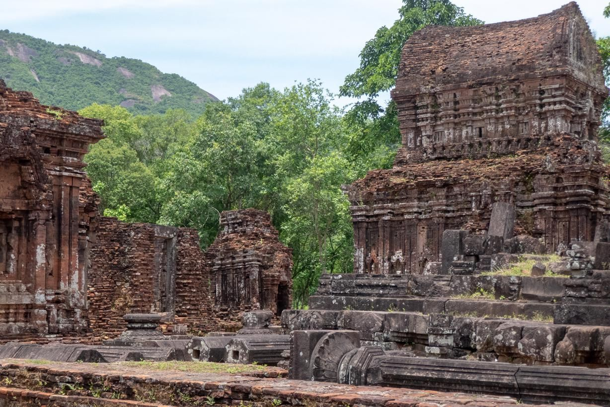 My Son Sanctuary - one of the few temples still standing