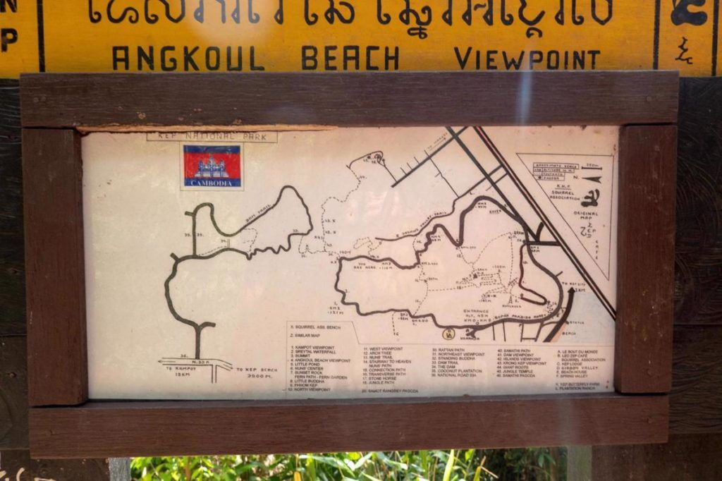 Kep National Park Cambodia: How to hike in Kep - Travellers