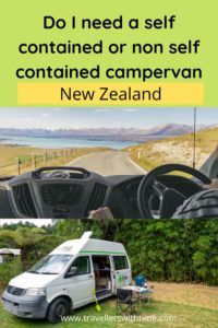 Trying to decide whether you need a self contained campervan when you're in New Zealand? Here is our complete guide to self containment including why you would need a self contained camper, what makes a van self contained, and the pro's and con's of self containment #newzealand #campervan #travel