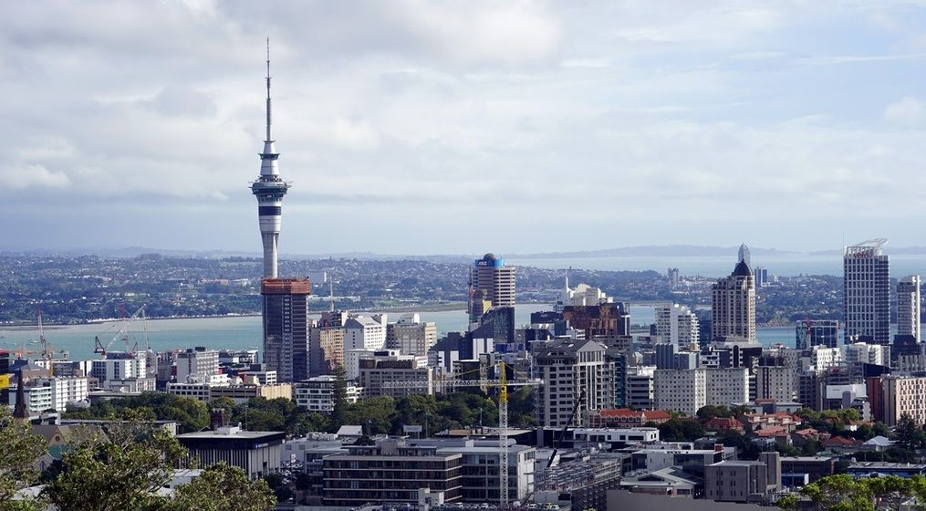 Views of Auckland city