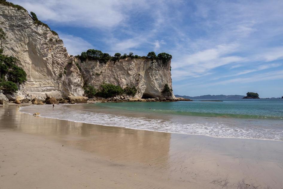 Stingray Bay at Cathedral Cove Road Trip Coromandel