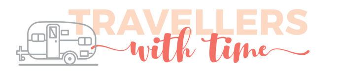Travellers With Time logo - caravan