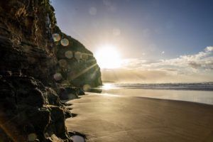 Cathedral Cave - The Catlins at sunrise - New Zealand Bucket List