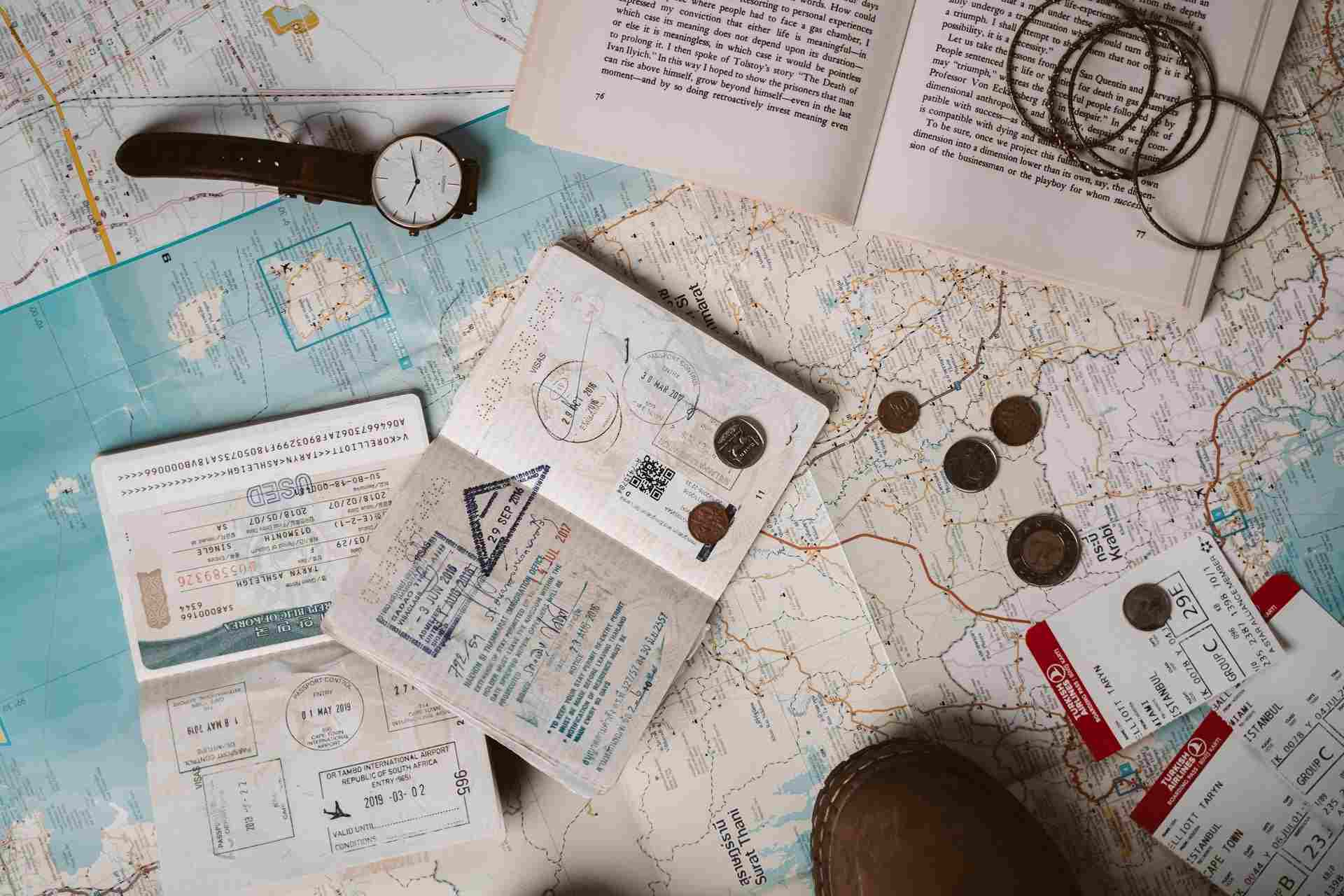 Passports and Visas for Europe in a campervan