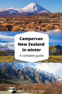 A complete guide to campervan travel in New Zealand in winter. Covering the pro's and con's of winter campervanning, how to find a camper, what to pack and where to go in winter. #newzealand #campervan #travel #winter