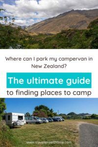 The ultimate guide to finding overnight parking places for your campervan in New Zealand - from free to paid campervan options including prices and useful tools to find the perfect spot for the night