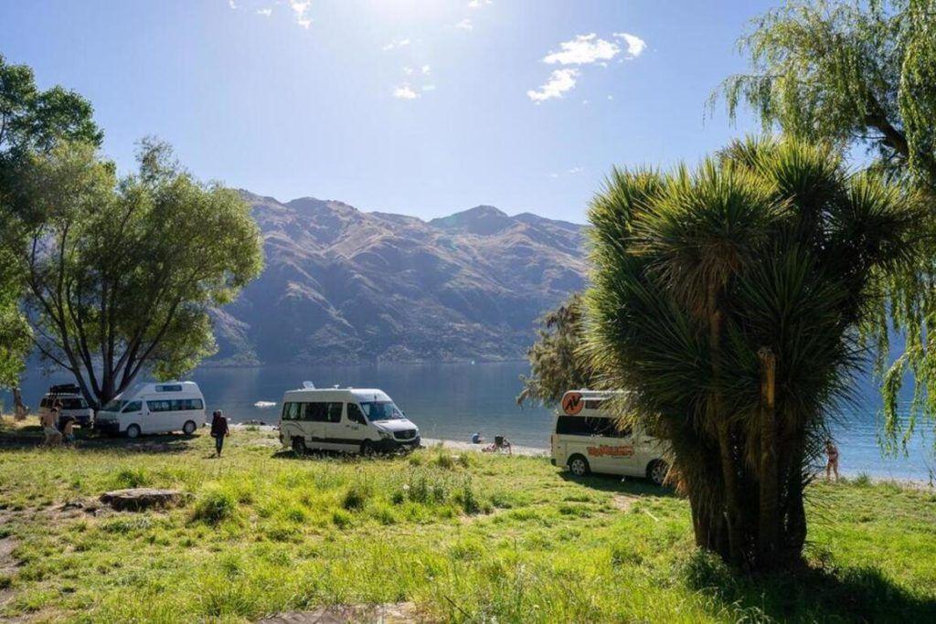 overnight campervan parking New Zealand